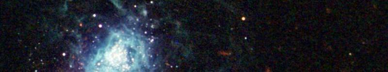Image of galaxy IZW 18