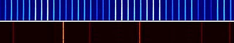 universal comb vs. neón spectrum