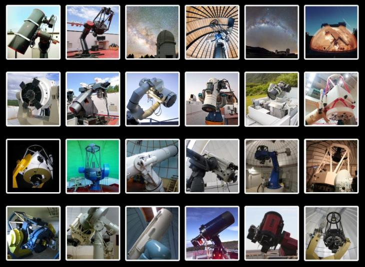 Red de telescopios GRANDMA