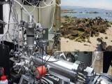 Nueva formación de partículas inducida por yodo ha sido reportada por ejemplo en la Ria de Arousa (esquina superior derecha) por el mismo grupo que lidera el presente trabajo. El mecanismo de formación de partículas se ha investigado en laboratorio este estudio usando técnicas laser y espectrometría de masas/ Juan Carlos Gomez Martin