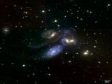 "Imagen del ""Quinteto de Stephan"" tomada con SITELLE"